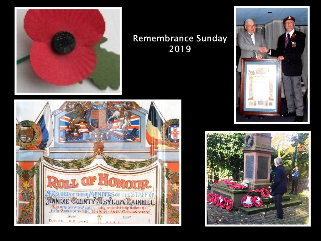 Remebrance Sunday 2019